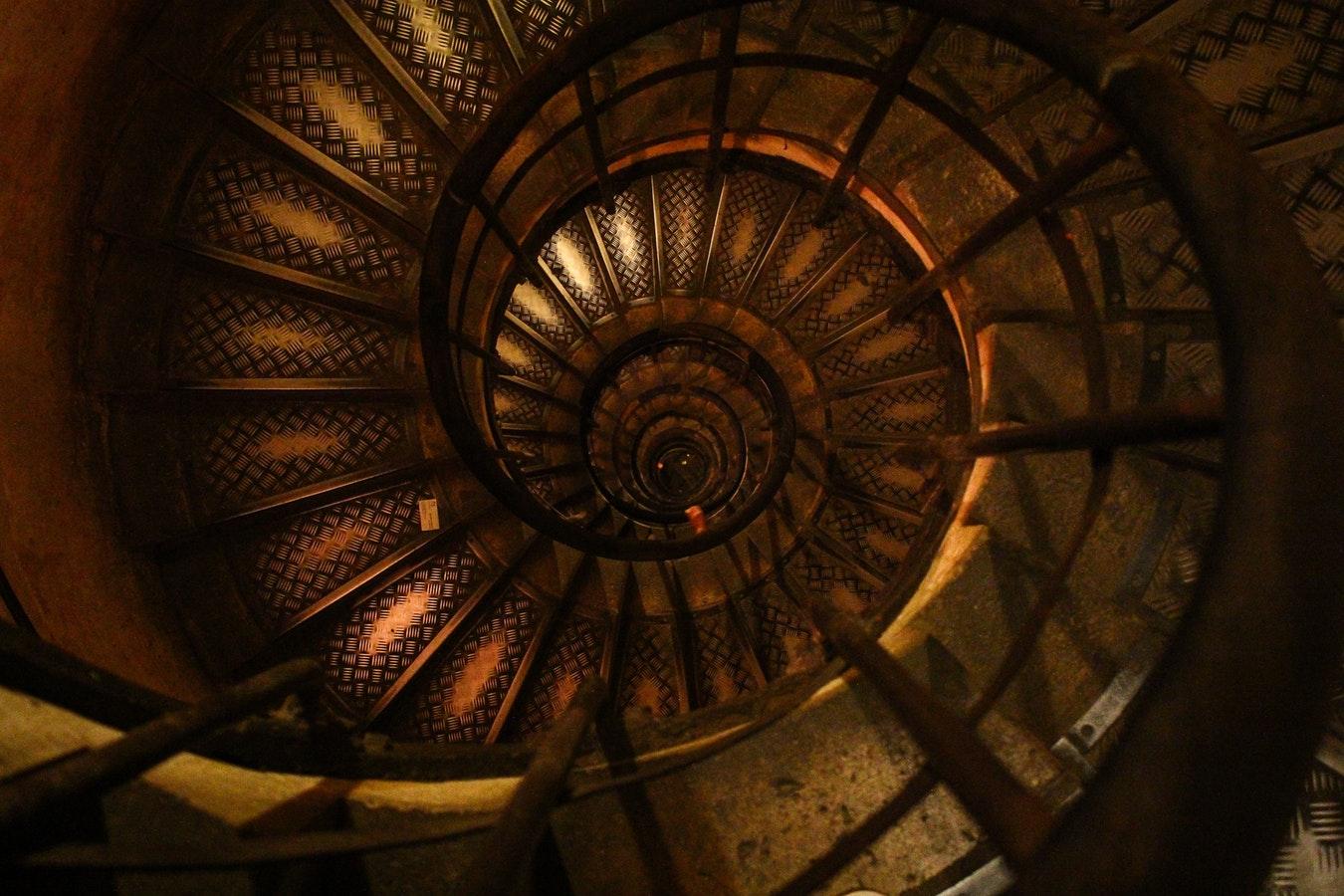 Boutique Spiral Stairwell